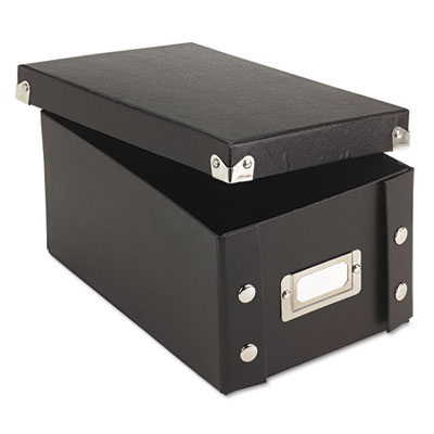 Snap-N-Store SNS01577 Collapsible Index Card File Box