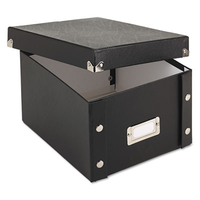 Snap-N-Store SNS01647 Collapsible Index Card File Box
