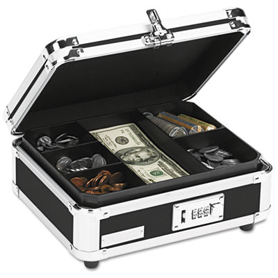 Snap-N-Store VZ01002 Vaultz Locking Cash Box