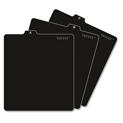 Snap-N-Store VZ01176 Vaultz A-Z CD File Guides