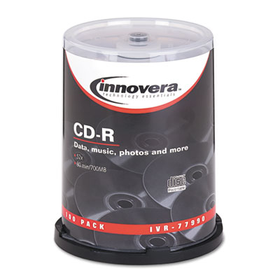 Innovera 77990 CD-R Recordable Disc