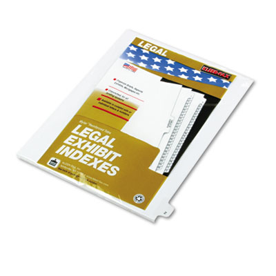 Kleer-Fax 80026 80000 Series Alpha Side Tab Legal Index Divider