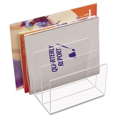 Kantek AD45 Clear Acrylic Desk File