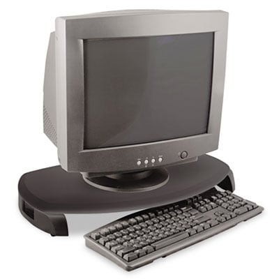 Kantek MS280B CRT/LCD Stand with Keyboard Storage