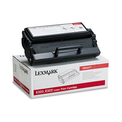 Lexmark 08A0477 Black Toner Cartridge