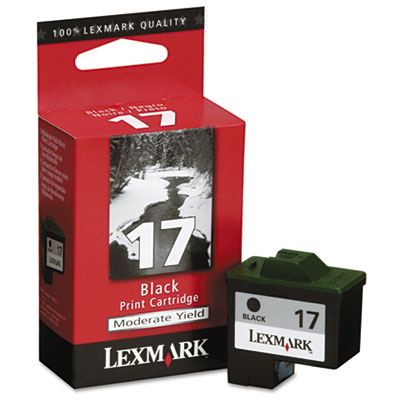 Lexmark 10N0217 Black Ink Cartridge