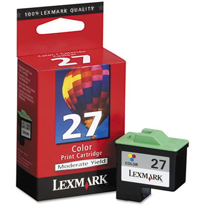 Lexmark 10N0227 Tri-Color Ink Cartridge