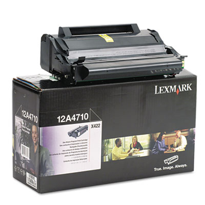 Lexmark 12A4710 Black Toner Cartridge