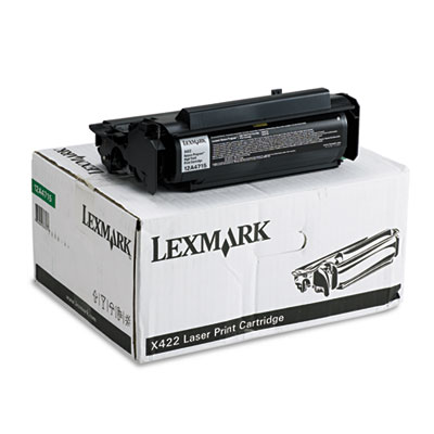 Lexmark 12A4715 Black Toner Cartridge