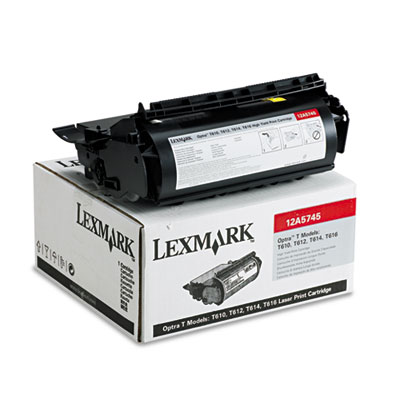 Lexmark 12A5745 Black Toner Cartridge