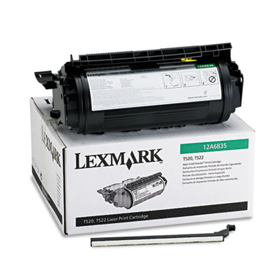 Lexmark 12A6835 Black Toner Cartridge
