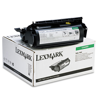 Lexmark 12A6865 Black Toner Cartridge