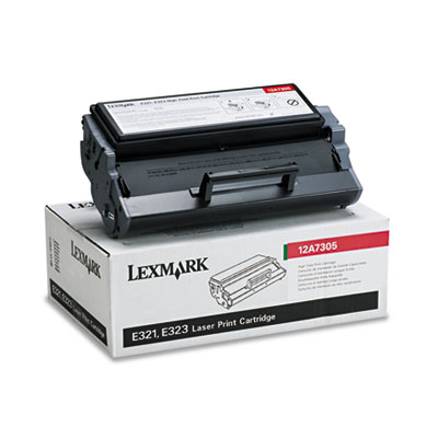 Lexmark 12A7305 Black Toner Cartridge