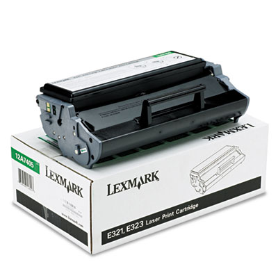 Lexmark 12A7405 Black Toner Cartridge