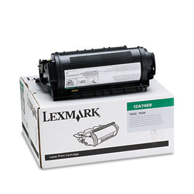 Lexmark 12A7469 Black Toner for Labels Cartridge