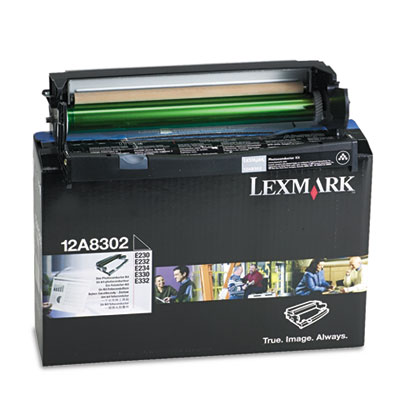 Lexmark 12A8302 Black Photoconductor Kit