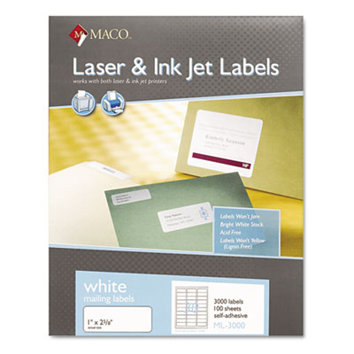 Chartpak/Pickett ML3000 Labels