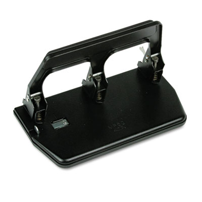 Premier Martin Yale MP50 Master Heavy-Duty Three-Hole Punch with Gel Pad Handle