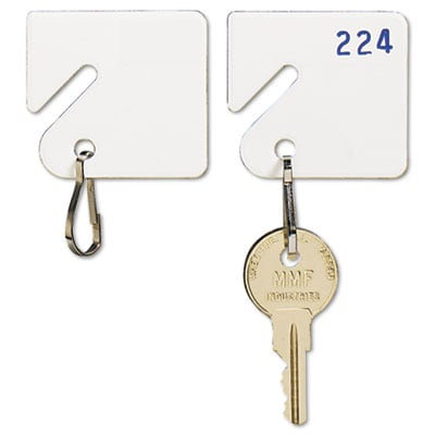 Mmf 201300006 SteelMaster Slotted Rack Key Tags