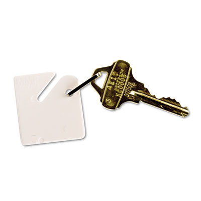 Mmf 2013001AA06 SteelMaster Slotted Rack Key Tags