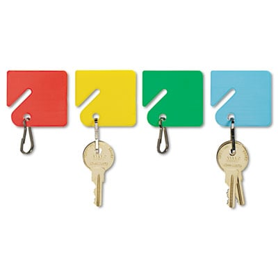 Mmf 2013004W47 SteelMaster Slotted Rack Key Tags