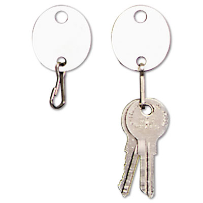 Mmf 201800706 SteelMaster Oval Snap-Hook Key Tags