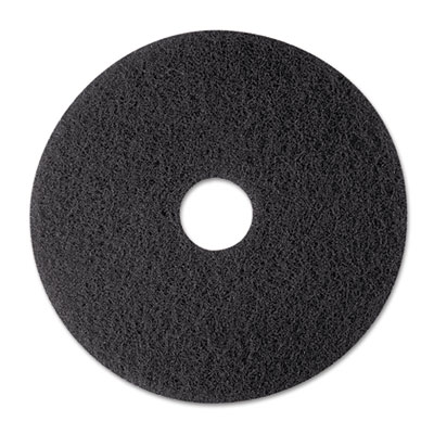 3M 08374 Black Stripper Floor Pads 7200