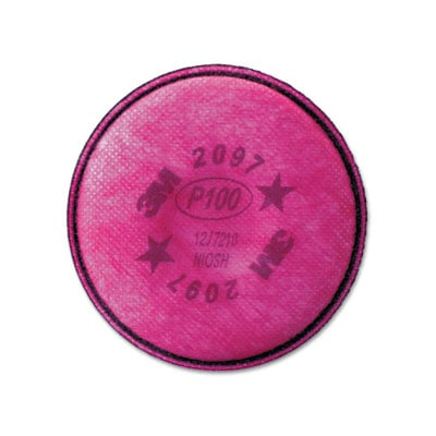 3M 2097 Particulate Filter for Nuisance Level Organic Vapor Relief