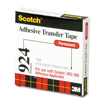3M 92412 Scotch ATG Adhesive Transfer Tape