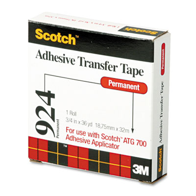 3M 92434 Scotch ATG Adhesive Transfer Tape