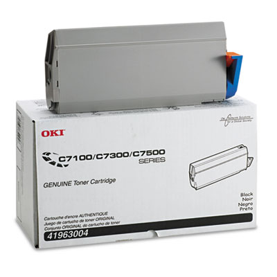 Oki 41963004 Black Type C4 Toner Cartridge