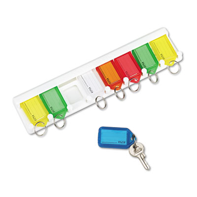 PM 04991 SecurIT Color-Coded Key Tag Rack