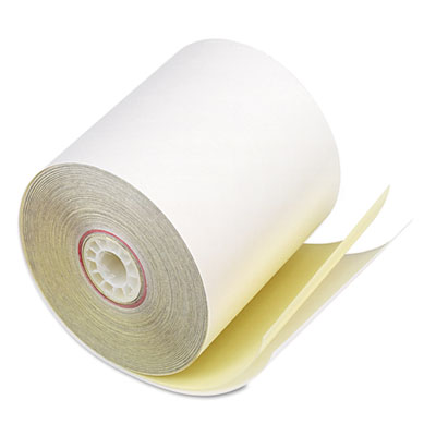PM Company 07706 Impact Printing Carbonless Paper Rolls