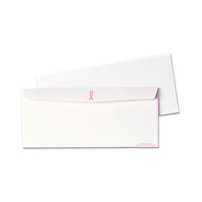 Quality Park 11120 Breast Cancer Awareness Envelope
