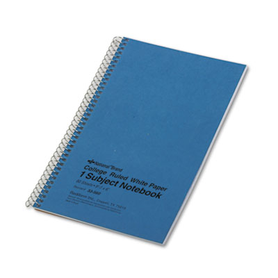 Rediform 33560 National Single-Subject Wirebound Notebooks