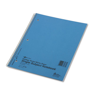 Rediform 33986 National Single-Subject Wirebound Notebooks