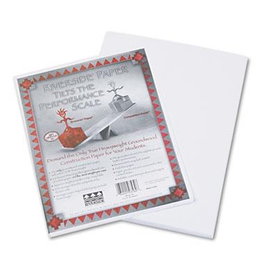 12 x 18 Pacon 103623 Riverside Construction Paper Light Blue 50 Sheets//Pack 76 lbs