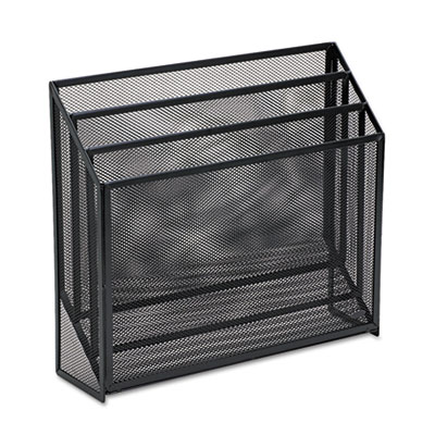 Rolodex 22347ELD Mesh Three-Tier Organizer