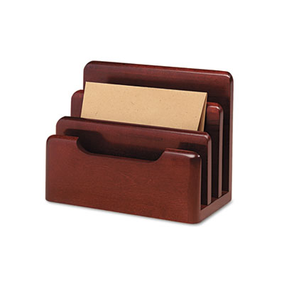 Rolodex 23420 Wood Tones Desktop Sorter