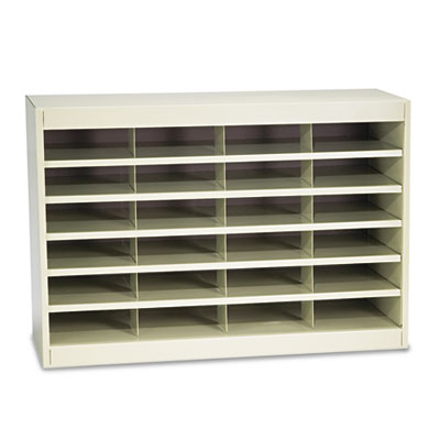 Safco 9211TSR E-Z Stor Literature Organizers with Steel Frames and Shelves