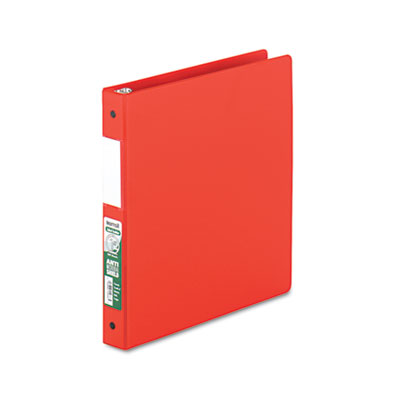 Samsill 14333 Clean Touch Heavy-Duty Locking Round Ring Antimicrobial Protected Reference Binder