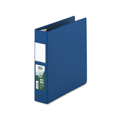 Samsill 14362 Clean Touch Heavy-Duty Locking Round Ring Antimicrobial Protected Reference Binder
