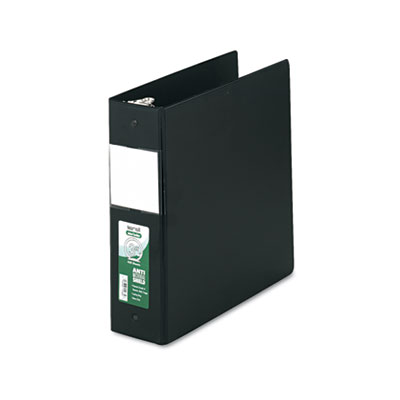 Samsill 14380 Clean Touch Heavy-Duty Locking Round Ring Antimicrobial Protected Reference Binder