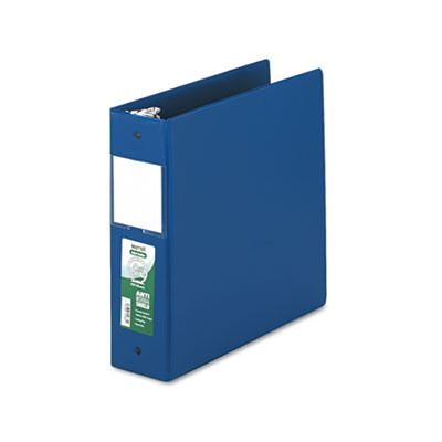 Samsill 14382 Clean Touch Heavy-Duty Locking Round Ring Antimicrobial Protected Reference Binder