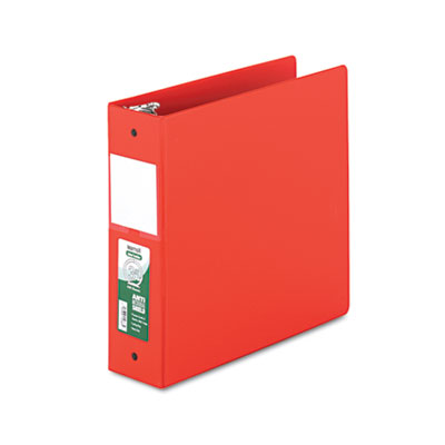 Samsill 14383 Clean Touch Heavy-Duty Locking Round Ring Antimicrobial Protected Reference Binder