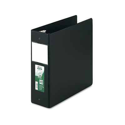 Samsill 14390 Clean Touch Heavy-Duty Locking Round Ring Antimicrobial Protected Reference Binder