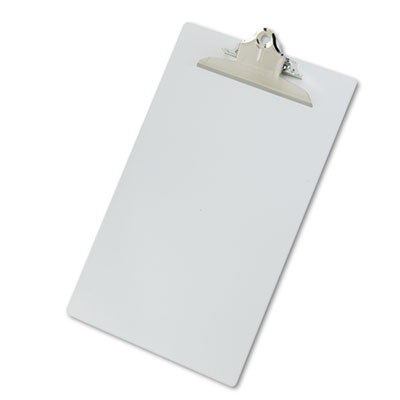 Saunders 22519 Recycled Aluminum Clipboard with High-Capacity Clip