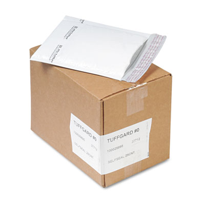 Sealed Air 37712 Jiffy TuffGard Self-Seal Cushioned Mailer