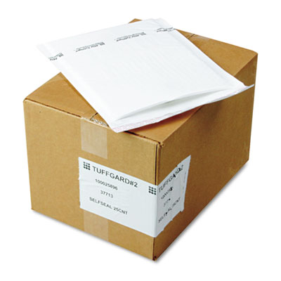 Sealed Air 37713 Jiffy TuffGard Self-Seal Cushioned Mailer