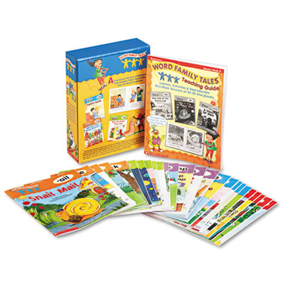 Scholastic 054506774X Word Family Tales